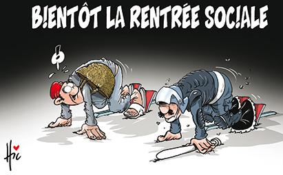 Bientôt la rentrée sociale - Dessins et Caricatures, Le Hic - El Watan - Gagdz.com