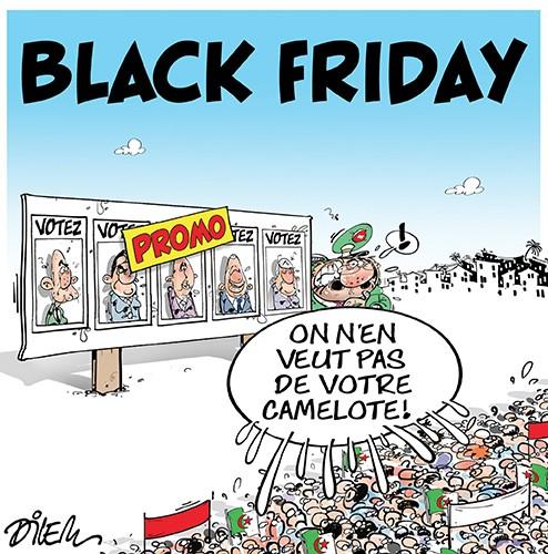 Black friday en Algérie - Dilem - Liberté - Gagdz.com