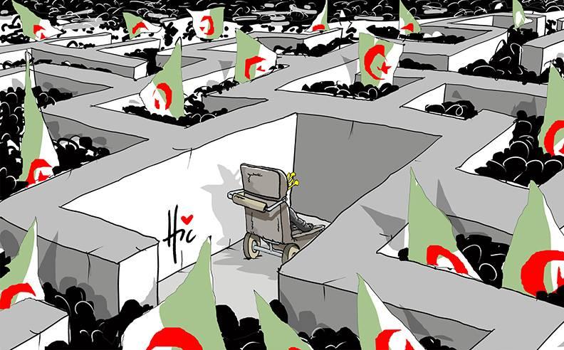 Bouteflika face au peuple - Dessins et Caricatures, Le Hic - El Watan - Gagdz.com