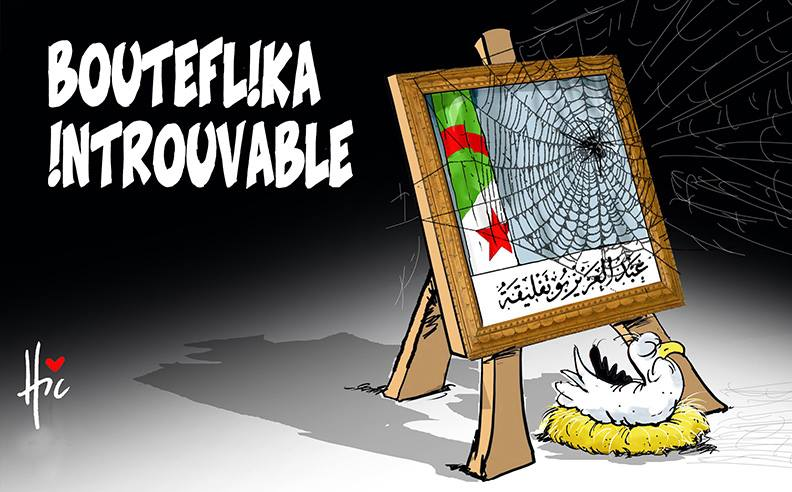 Bouteflika introuvable - Dessins et Caricatures, Le Hic - El Watan - Gagdz.com