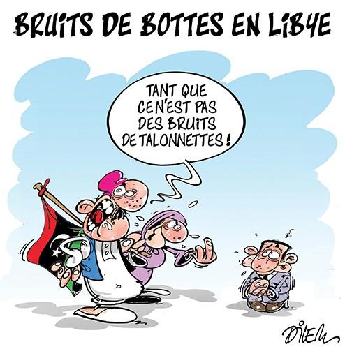Bruits de bottes en libye - France - Gagdz.com