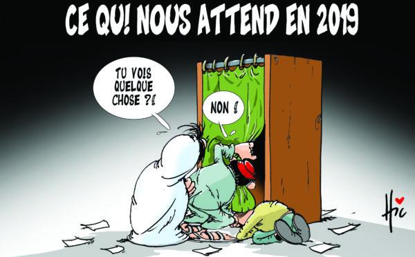 Ce qui attend les algériens en 2019 - Dessins et Caricatures, Le Hic - El Watan - Gagdz.com