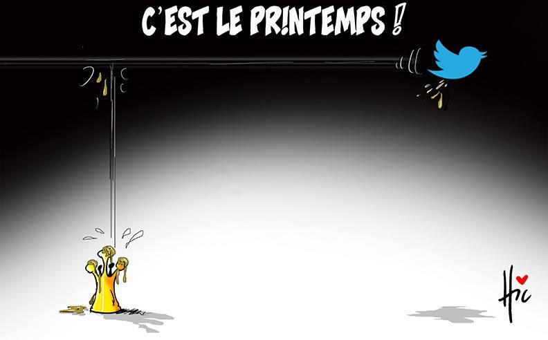 C'est le printemps - Dessins et Caricatures, Le Hic - El Watan - Gagdz.com