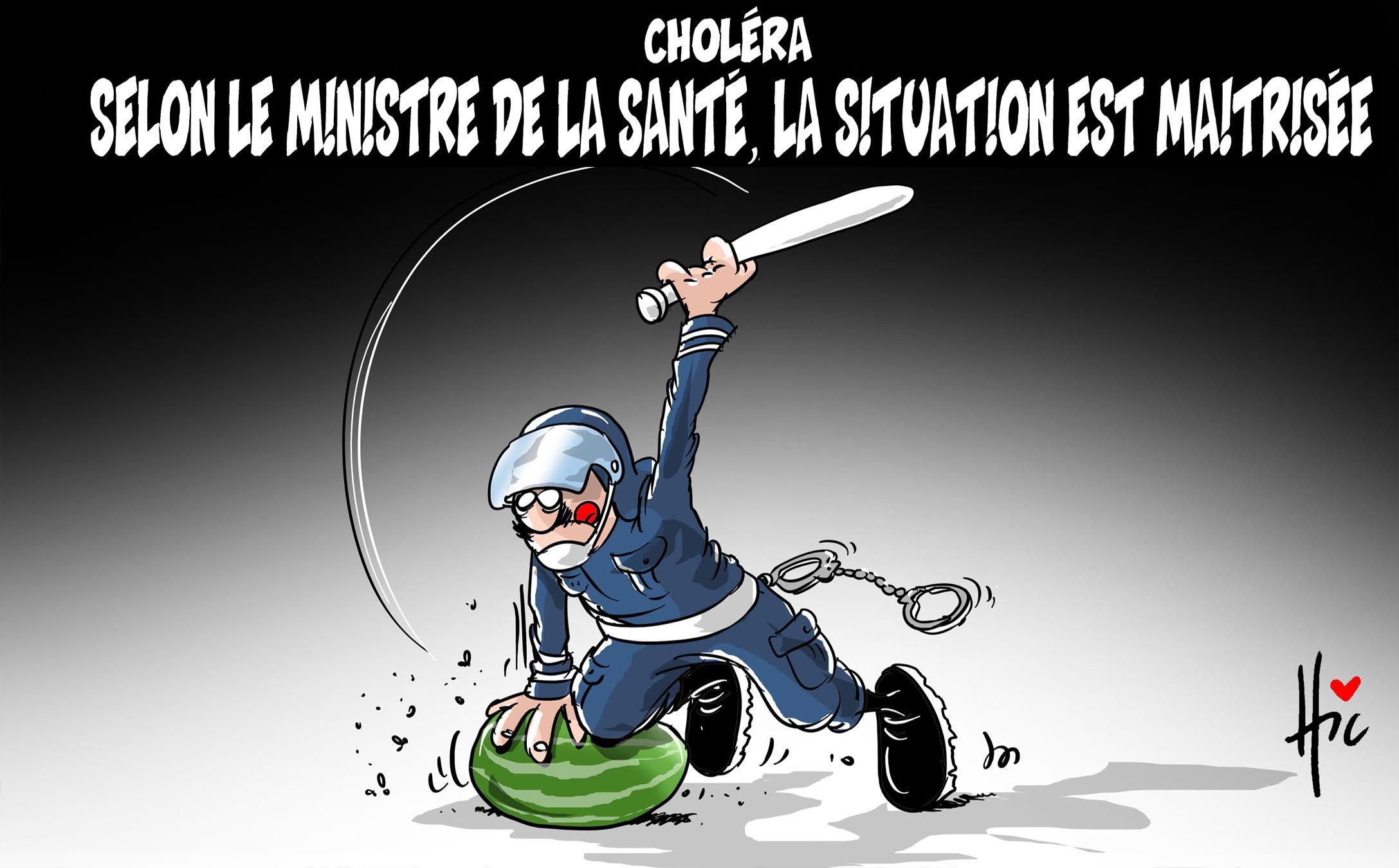Choléra : Selon le ministre de la santé la situation est maîtrisée - santé - Gagdz.com
