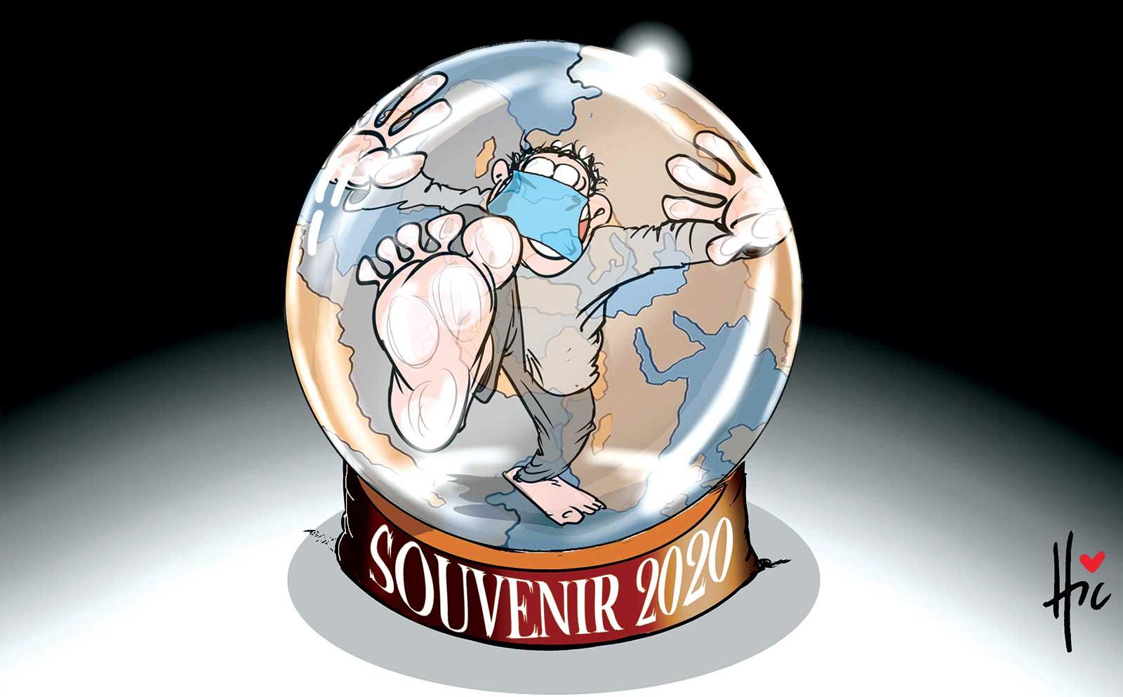 Confinement : Souvenir 2020 - Dessins et Caricatures, Le Hic - El Watan - Gagdz.com