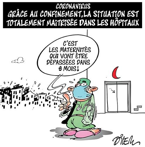 Coronavirus : Grâce au confinement, la situation est totalement maitrisée dans les hopitaux algériens - hôpitaux - Gagdz.com