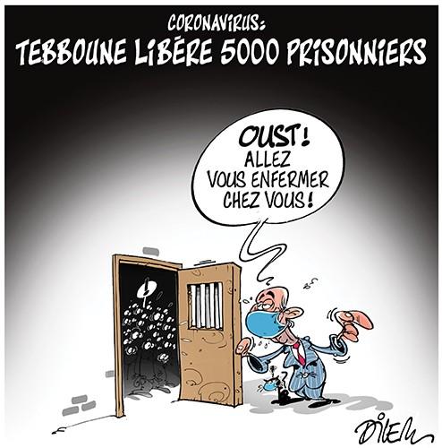 Coronavirus : Tebboune libère 5000 prisonniers - Dilem - Liberté - Gagdz.com
