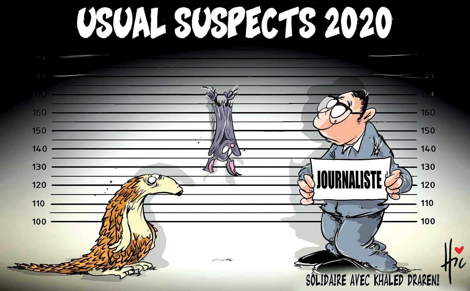 Coronavirus : Usual suspects 2020 - Dessins et Caricatures, Le Hic - El Watan - Gagdz.com