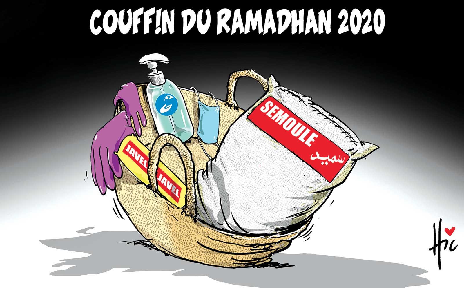 Couffin du ramadhan 2020 - Dessins et Caricatures, Le Hic - El Watan - Gagdz.com