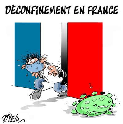 Déconfinement en France - déconfinement - Gagdz.com