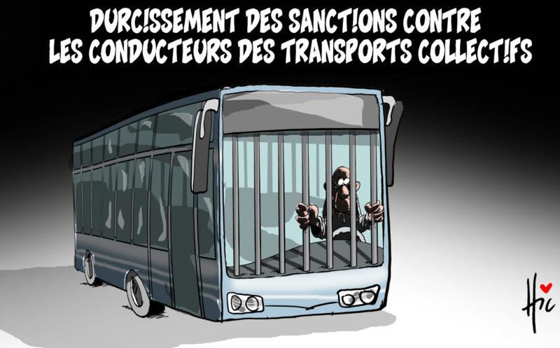 Durcissement des sanctions contre les conducteurs des transports collectifs - répression - Gagdz.com
