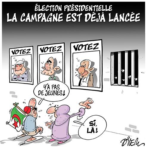 Election présidentielle : les campagne est déjà lancée - Dilem - Liberté - Gagdz.com