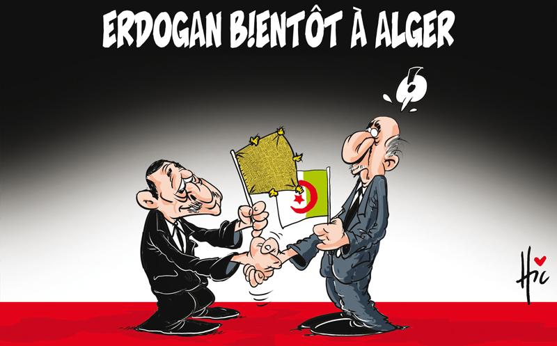 Erdogan bientôt à Alger - Erdogan - Gagdz.com