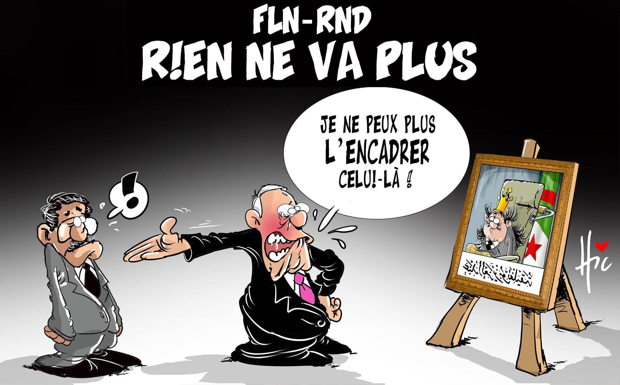 FLN - RND : Rien ne va plus - Dessins et Caricatures, Le Hic - El Watan - Gagdz.com