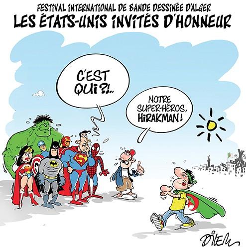 Festival international de bande dessinée d'Alger : les Etats-unis invités d'honneur - Alger - Gagdz.com