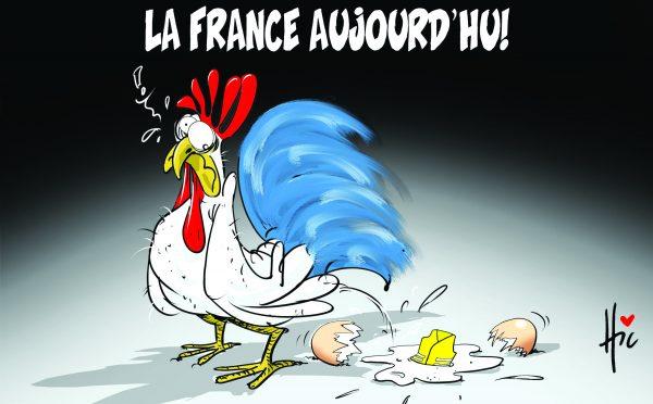 Gilets jaunes : La france aujourd'hui - Dessins et Caricatures, Le Hic - El Watan - Gagdz.com