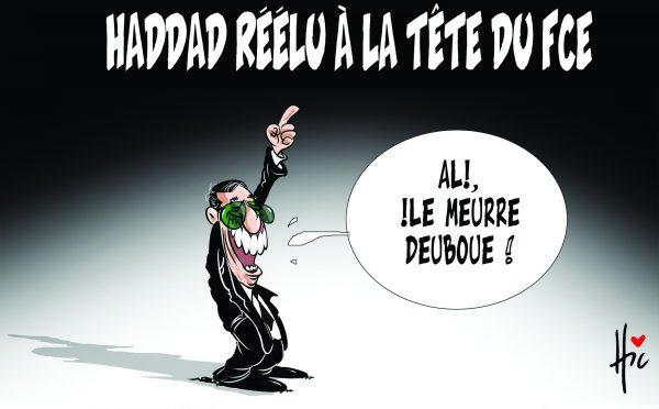 Haddar réélu à la tête du FEC - Dessins et Caricatures, Le Hic - El Watan - Gagdz.com
