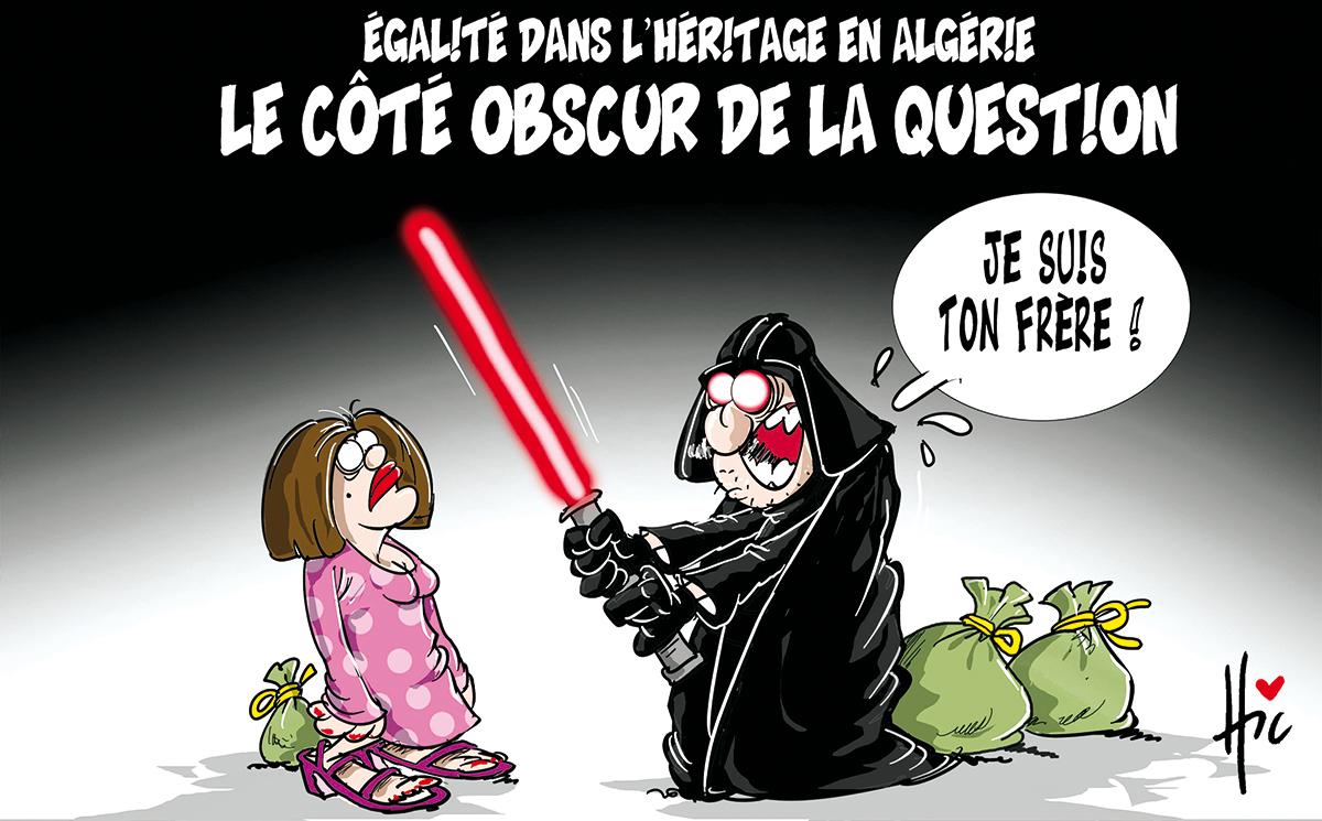 Inégalité dans l'héritage en Algérie. Le côté obscur de la question - Dessins et Caricatures, Le Hic - El Watan - Gagdz.com