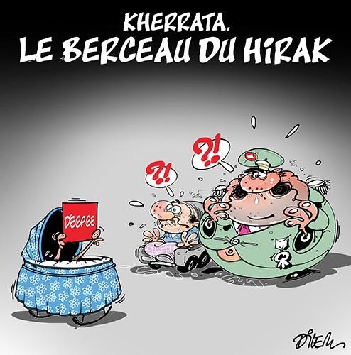 Kherrata : Le berceau du hirak - Dilem - Liberté - Gagdz.com