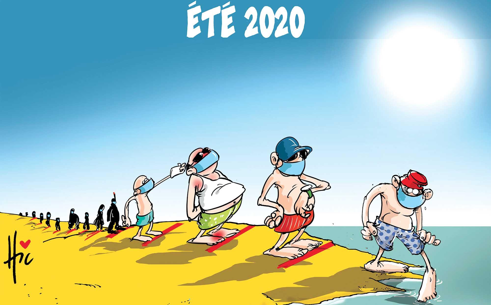 L'été 2020 sur les plage en Algérie - Le Hic - El Watan - Gagdz.com