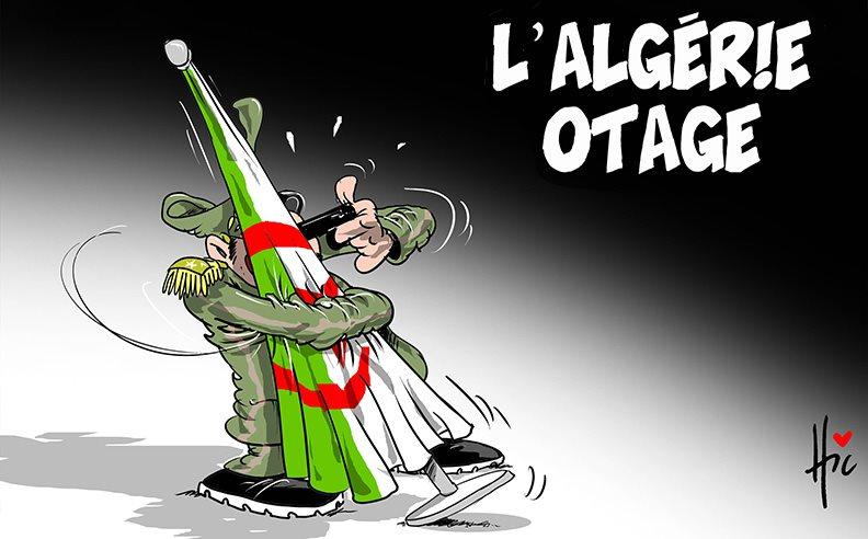 L'Algérie otage - Dessins et Caricatures, Le Hic - El Watan - Gagdz.com