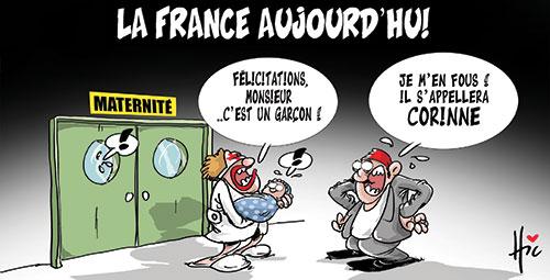 La France aujourd'hui - Dessins et Caricatures, Le Hic - El Watan - Gagdz.com