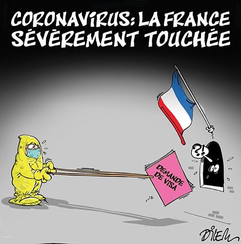 La France sévèrement touchée par le coronavirus - France - Gagdz.com