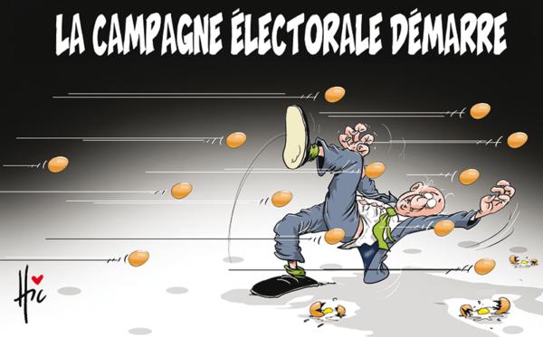 La campagne électorale démarre en Algérie - Dessins et Caricatures, Le Hic - El Watan - Gagdz.com
