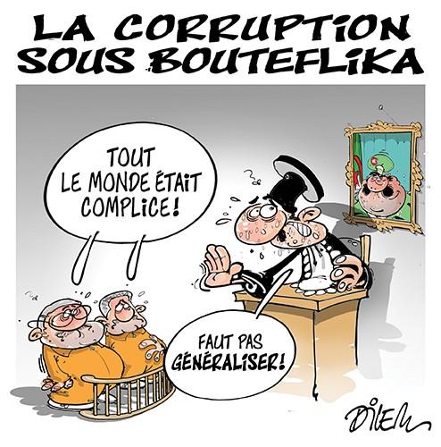 La corruption sous bouteflika - Dilem - Liberté - Gagdz.com