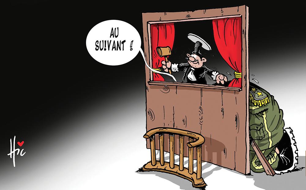 La justice algérienne continue de faire défiler les accusés - Dessins et Caricatures, Le Hic - El Watan - Gagdz.com