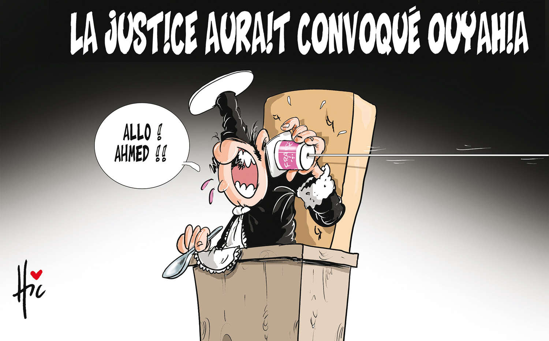 La justice aurait convoqué Ouyahia - Dessins et Caricatures, Le Hic - El Watan - Gagdz.com