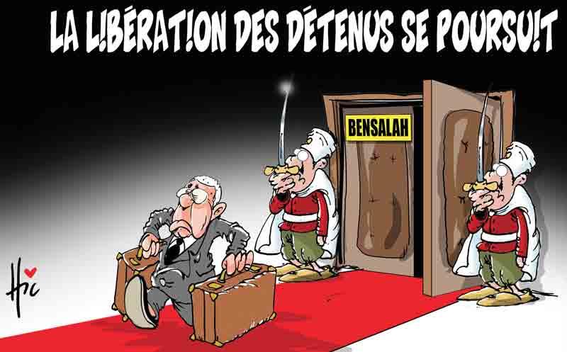 La libération des détenus se poursuit - Dessins et Caricatures, Le Hic - El Watan - Gagdz.com