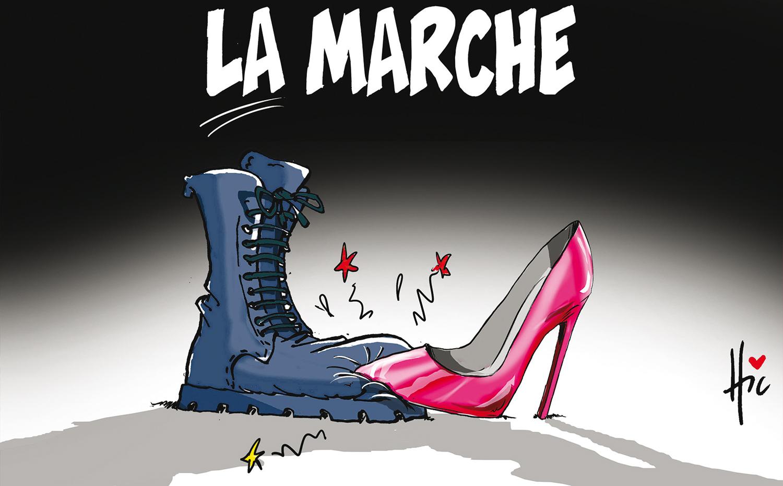 La marche des femmes en Algérie - marché - Gagdz.com