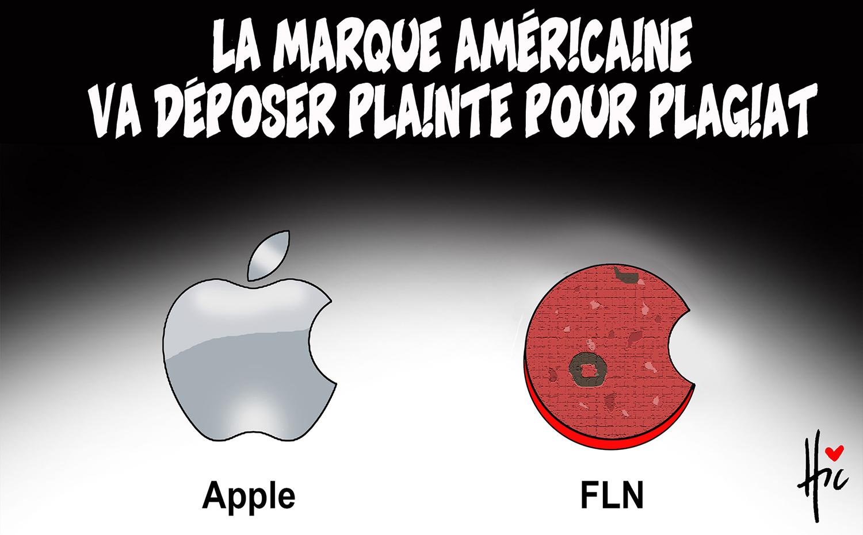 La marque américaine va déposer plainte pour plagiat contre le FLN - Dessins et Caricatures, Le Hic - El Watan - Gagdz.com