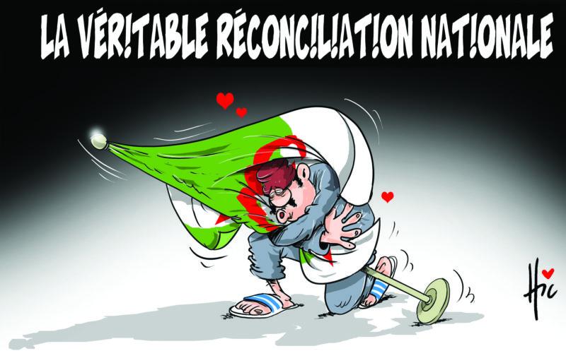 La véritable réconciliation nationale - Dessins et Caricatures, Le Hic - El Watan - Gagdz.com