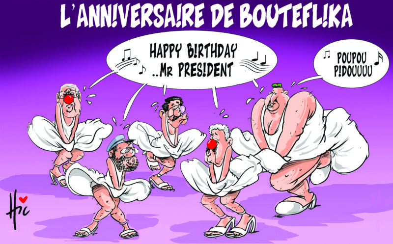 L'anniversaire de Bouteflika : Happy birthday mister president - Anniversaire - Gagdz.com