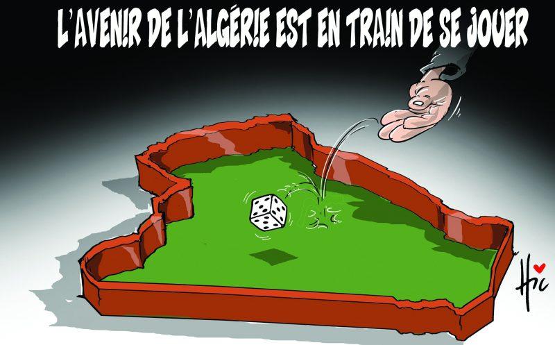 L'avenir de l'Algérie est en train de se jouer - Dessins et Caricatures, Le Hic - El Watan - Gagdz.com