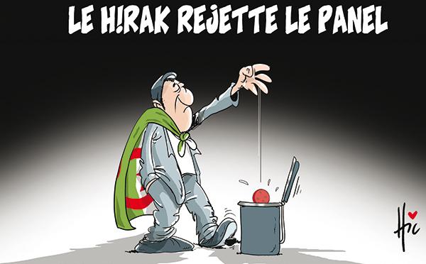 Le Hirak rejette le panel - Dessins et Caricatures, Le Hic - El Watan - Gagdz.com