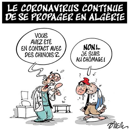 Le coronavirus continue de se propager en Algérie - Chômage - Gagdz.com