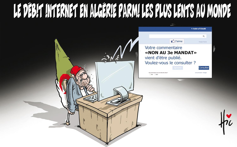 Le débit internet en Algérie parmi les plus lents au monde - Algérie télécom - Gagdz.com