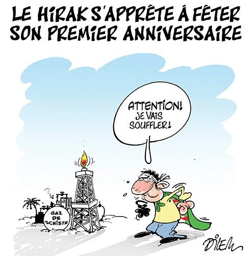 Le hirak s'apprête à fêter son premier anniversaire - Anniversaire - Gagdz.com