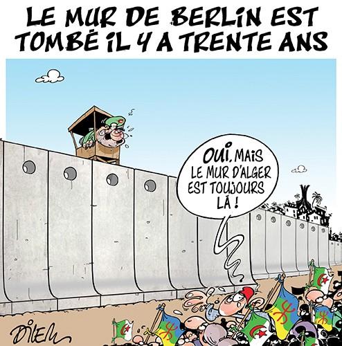 Le mur de Berlin est tombé il y a trente ans - Armée - Gagdz.com