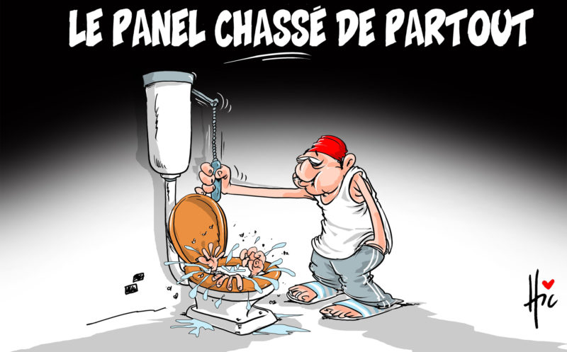 Le panel chassé de partout - Dessins et Caricatures, Le Hic - El Watan - Gagdz.com
