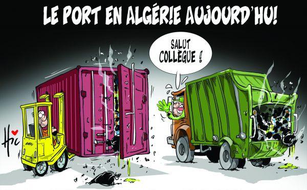 Le port en Algérie aujourd'hui - importations - Gagdz.com
