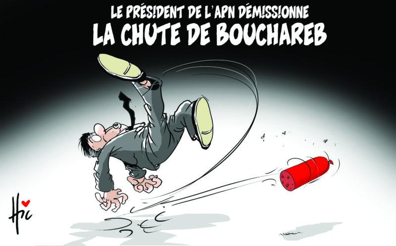 Le président de l'apn démissionne. La chute de Bouchareb - Dessins et Caricatures, Le Hic - El Watan - Gagdz.com
