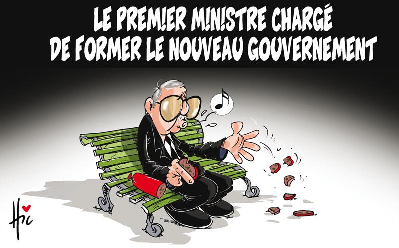 Le premier ministre chargé de former le nouveau gouvernement - Dessins et Caricatures, Le Hic - El Watan - Gagdz.com