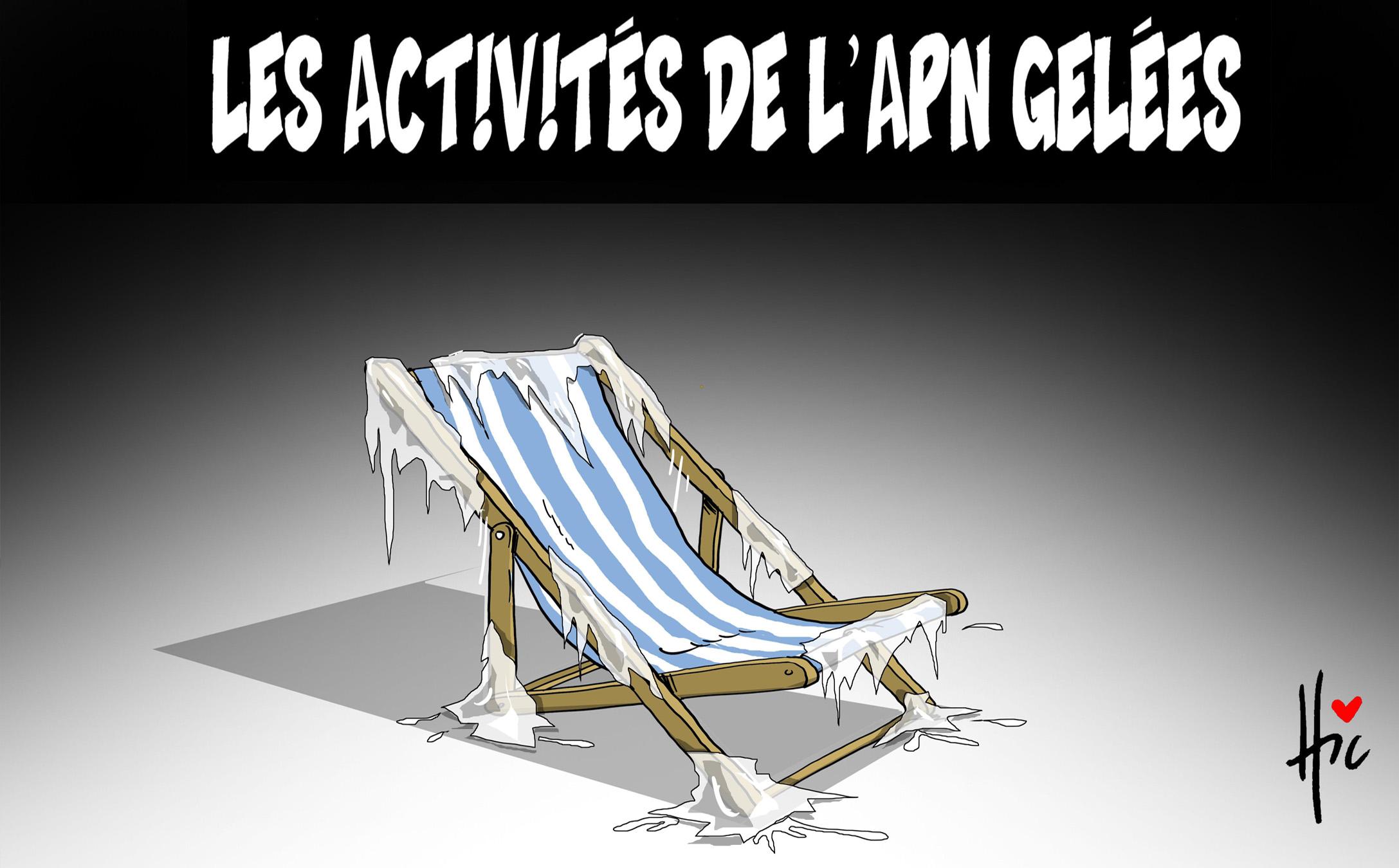 Les activités de l'apn gelées - Dessins et Caricatures, Le Hic - El Watan - Gagdz.com