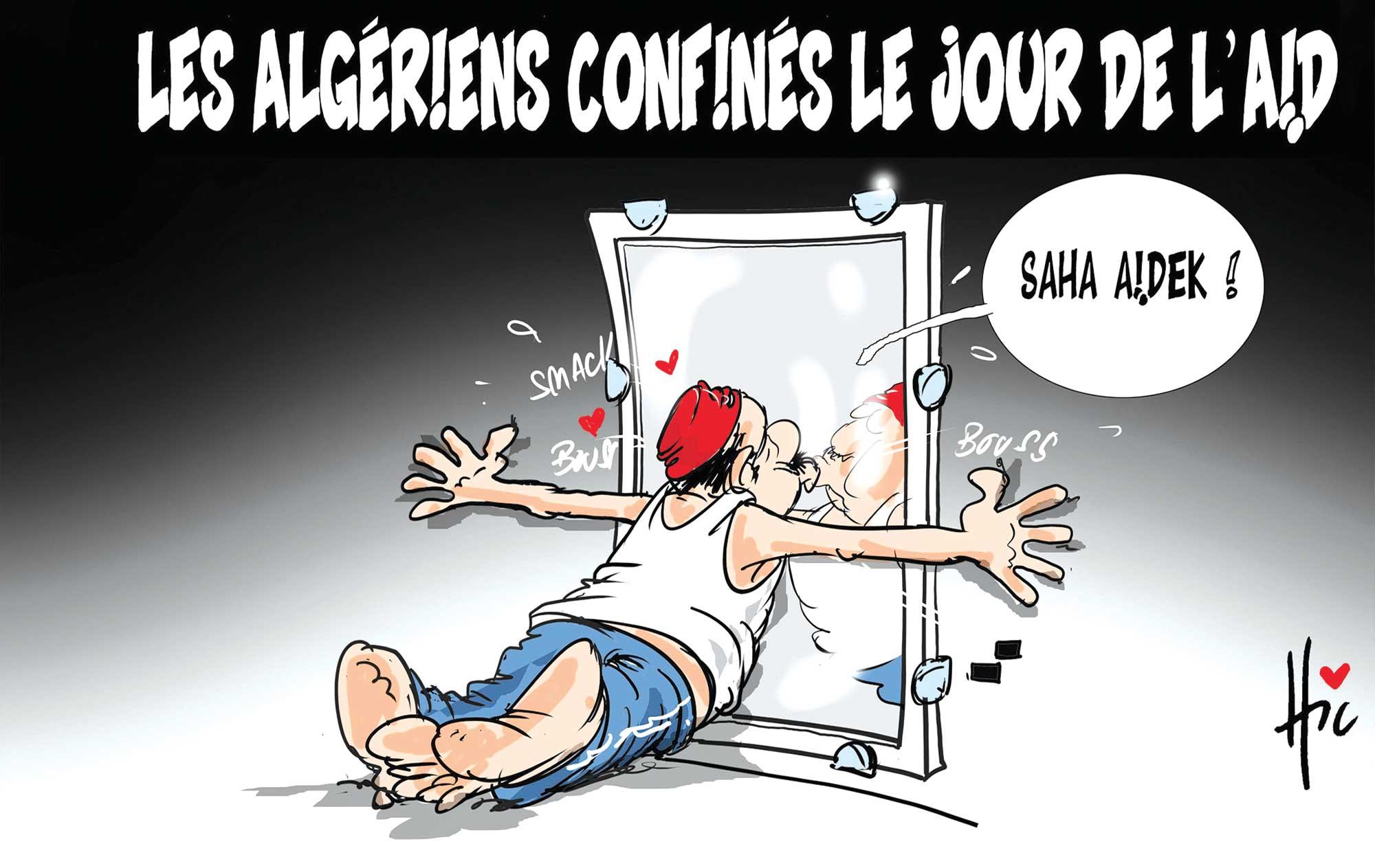 Les algériens confinés le jour de l'Aid - Le Hic - El Watan - Gagdz.com