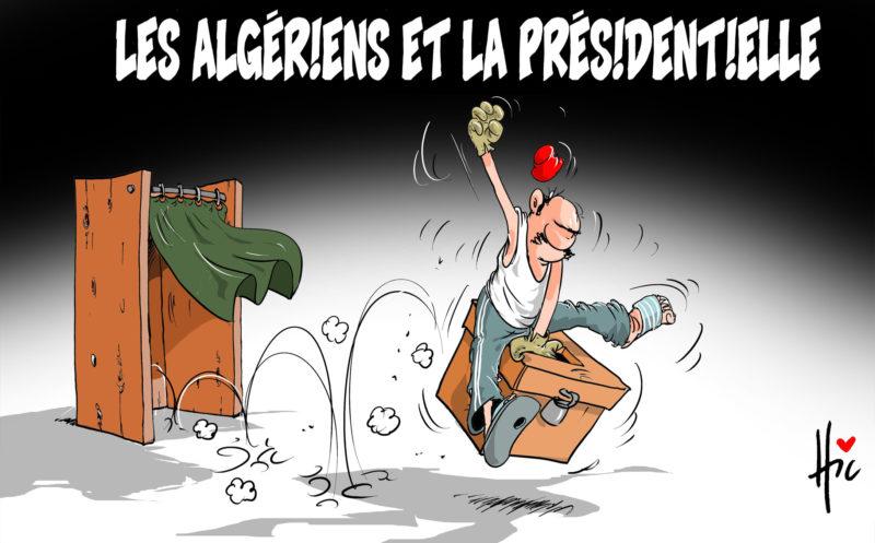 Les algériens et la présidentielle - Dessins et Caricatures, Le Hic - El Watan - Gagdz.com