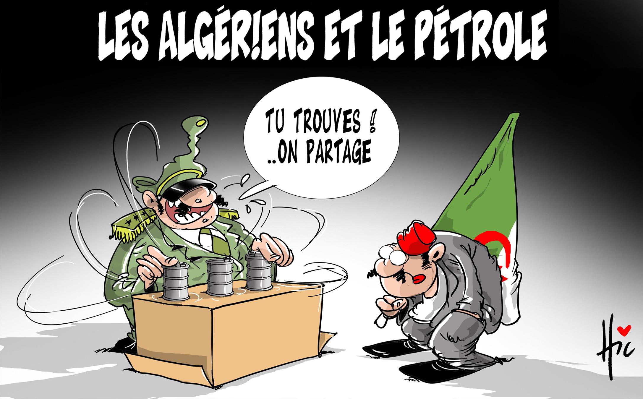 Les algériens et le pétrole - petrole - Gagdz.com
